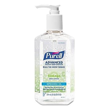 Goj369112 Purell Green Certified Instant Hand Sanitizer Gel