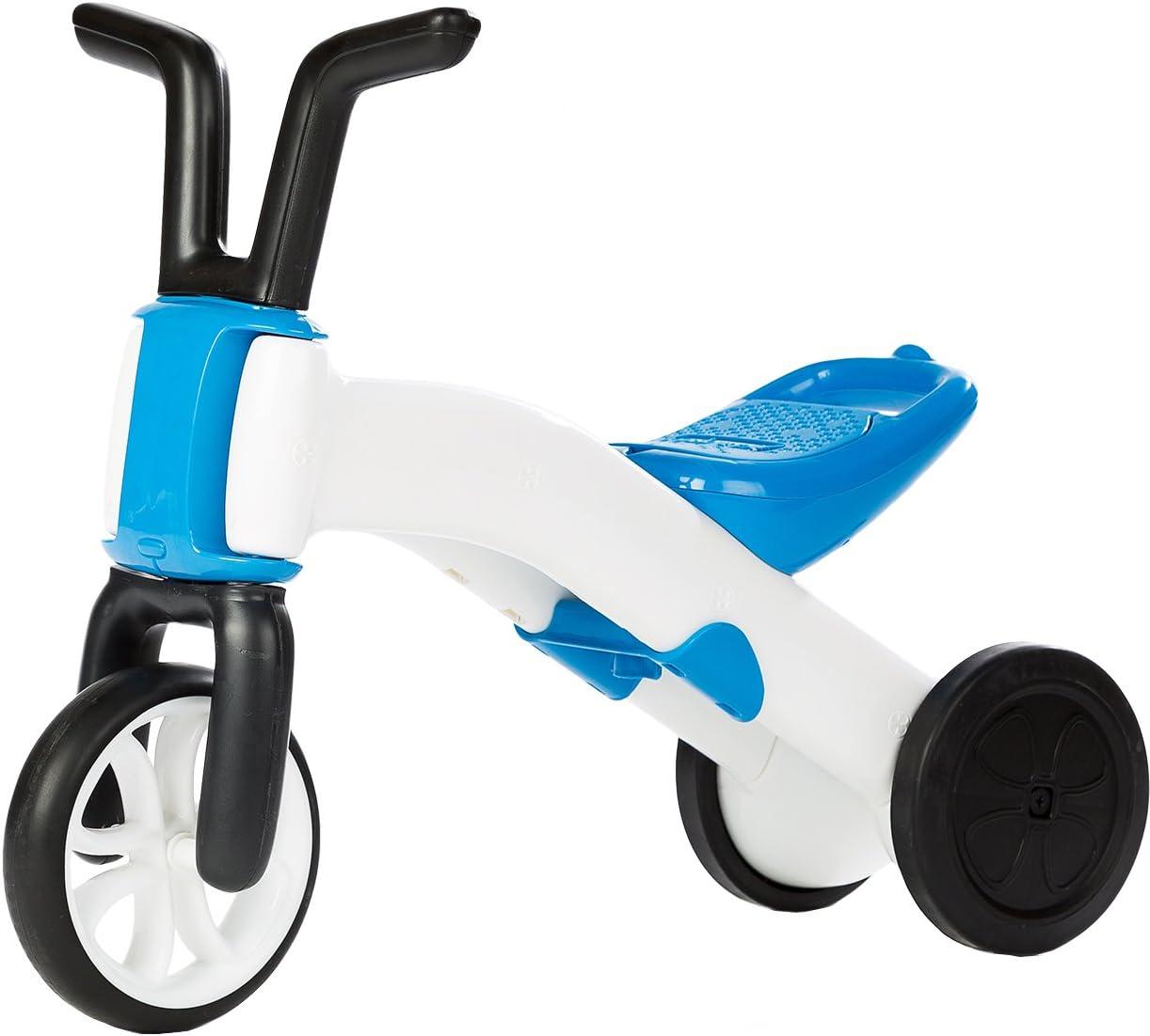 Chillafish - BMXie Balance Ride-on correpasillos y Bicicleta 2 en 1, Color Azul (49901B)