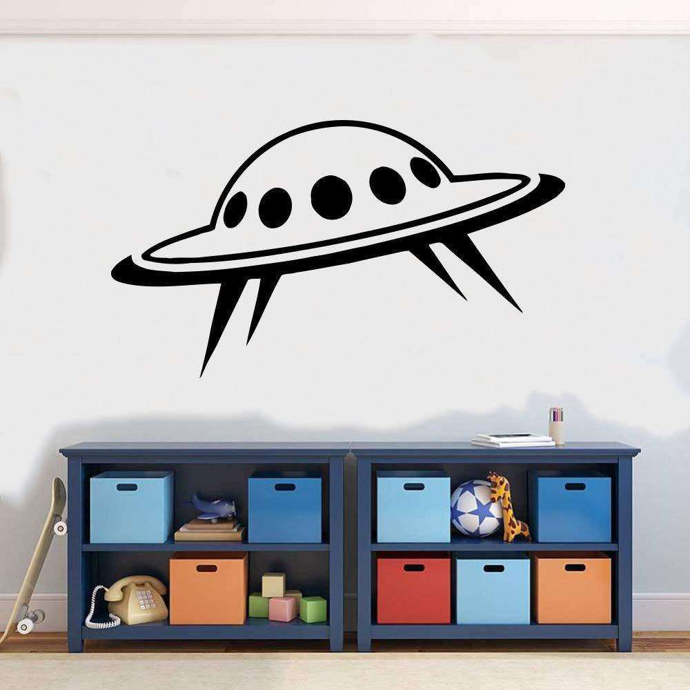 Alien Space UFO Guest Wall Sticker Vinyl Decal Mural Art Decor RH034