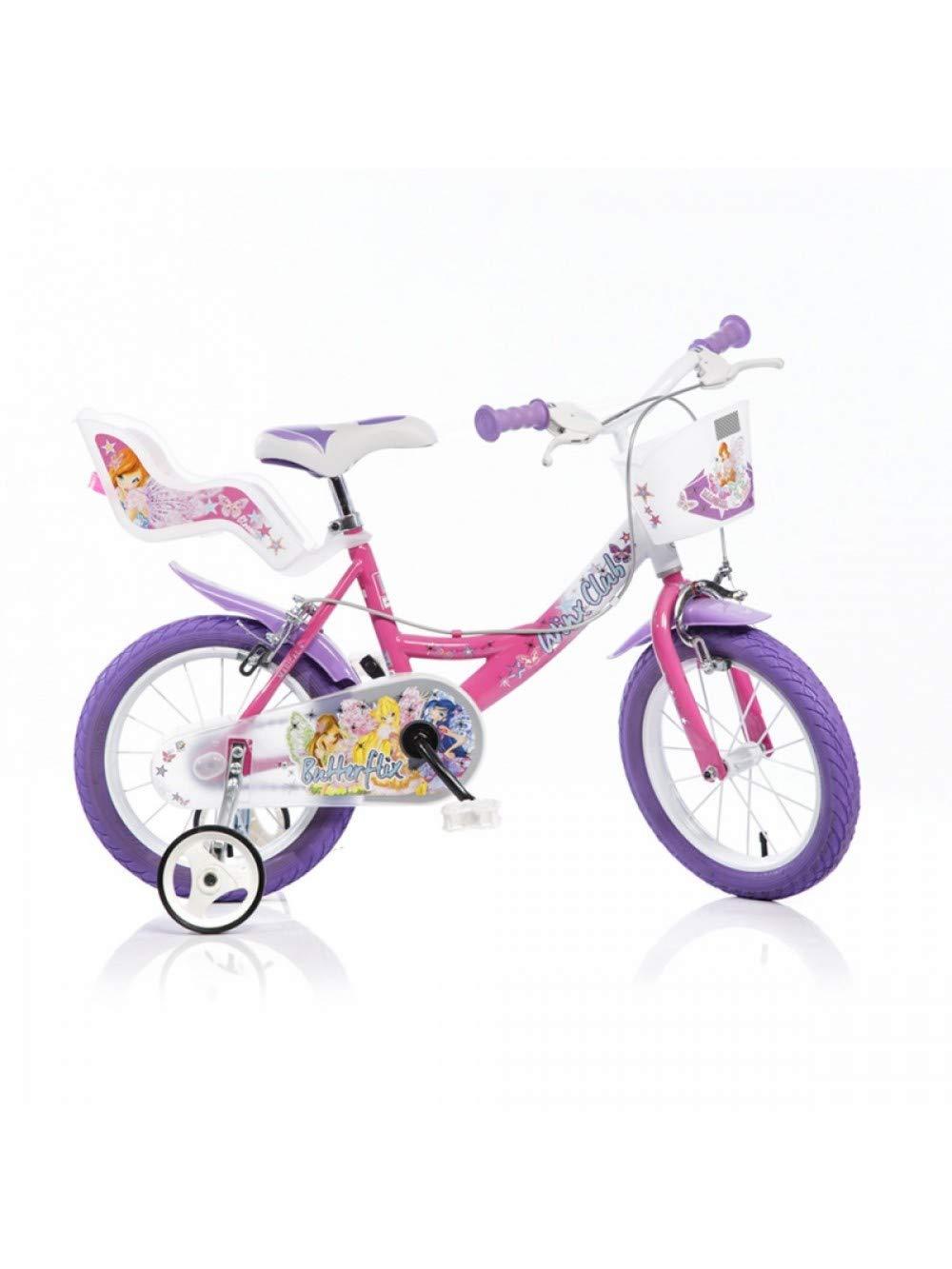 Dino Bikes 144 r-wx7 Fahrrad Mädchen – Winx, 14