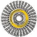 DEWALT DW49204 4-Inch by 5/8-Inch-11 HP .020 Stainless Stringer Wire Wheel