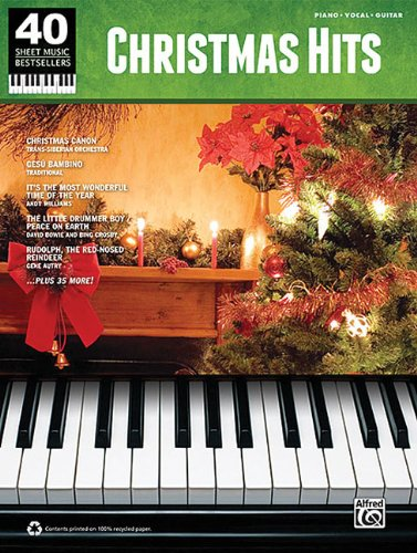 Christmas Hits: 40 Sheet Music Bestsellers Series