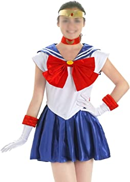 CoolChange Disfraz Cosplay de Sailor Moon, Talla: M: Amazon.es ...