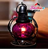Fashion Era Pink Electric Lamp Holder Decorative Table Lamp Hanging Lantern Stand Tea Light