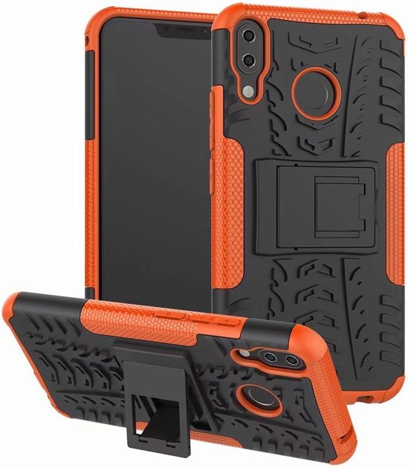 FaLiAng ASUS ZenFone 5Z(ZS620KL) Funda, 2in1 Armadura Combinación A Prueba de Choques Heavy Duty Escudo Cáscara Dura para ASUS ZenFone 5Z(ZS620KL) (Azul): Amazon.es: Hogar