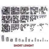 (300PCS) ☆ Set Screw Grub ◘ Stainless Steel ◘ Assortment Short Length ☆
