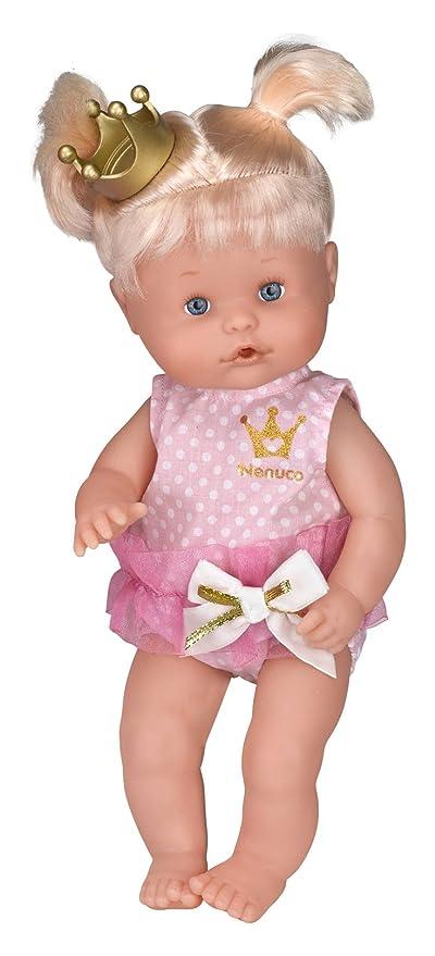 Nenuco - Princess Cuca, muñeca con Falda Rosa de Tul (Famosa 700012645B)