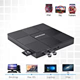 Moskee Type C External CD DVD Drive,with USB Port