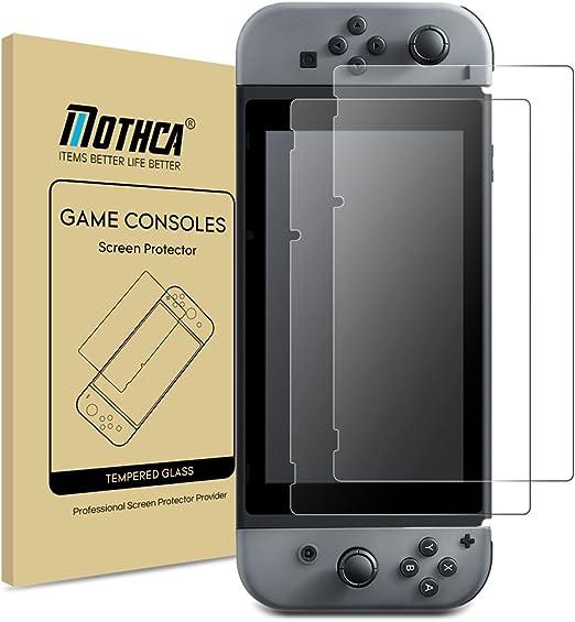 Nintendo Switch Glass Screen Protector [2-Pack] Mothca Transparent ...