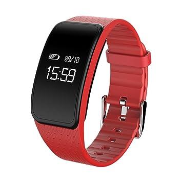 gexing kpuls Cuchillo brazalete deportivo inteligente Hombres y Mujeres Resistente al agua podómetro Monitor frecuencia cardíaca