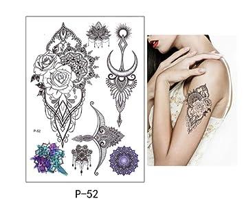 Impermeabilepegatinas Tatuaje Pegatinas Arcoiris Resistente Al ...