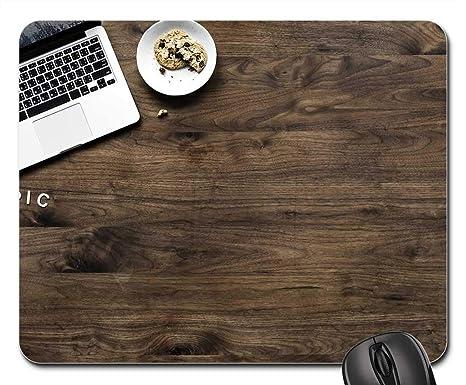 Amazon.com: Mouse Pads - Wood Desktop Wooden Aerial ...