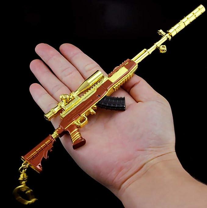 Amazon.com: Pistola de fusil para francotirador de oro SKS ...