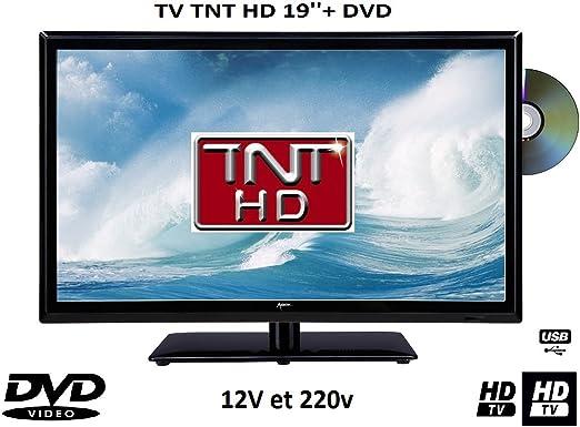 Televisión TV + DVD LED 18.5