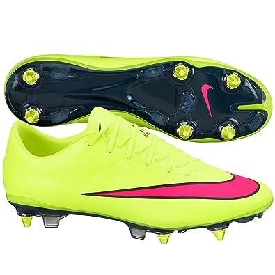 b31b4260585d Nike Mercurial Vapor X SG-Pro Football Boots: Amazon.co.uk: Sports ...