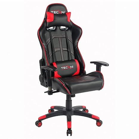 Amazon.com: Techni Sport silla de oficina juegos de pc ...