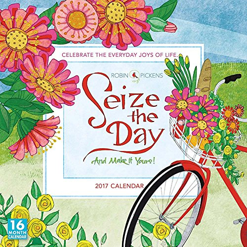 Seize the Day 2017 Wall Calendar