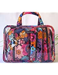 Vera Bradley 4-Piece Cosmetic Organizer - Floral Fiesta - NWT
