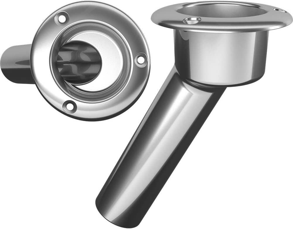 Mate Series Stainless Steel 30 Rod Cup Holder – Open – Round Top C1030ND
