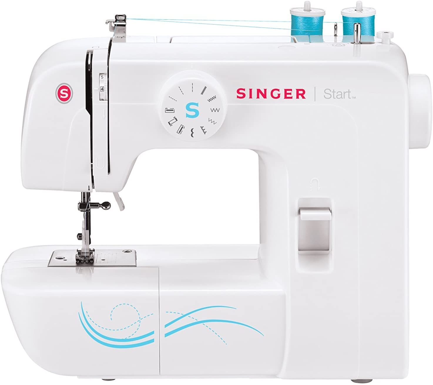 Best for Beginners: Singer Mechanical Sewing Machine - Start 1304 with 6 Built-in Stitches