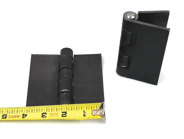Heavy Duty Weldable Pair 4'' x 4'' Gate Hinges-Steel Butt Hinge /Hvy Gates Doors