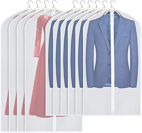 Garment Suit Dress Jacket Clothes Coat Dustproof Cover Protector Travel Bag