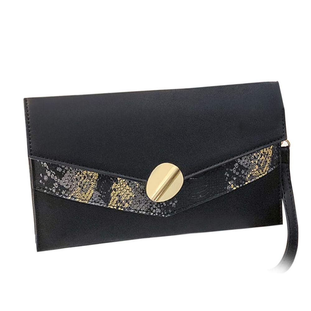 Leather Clutch Bag Easy...