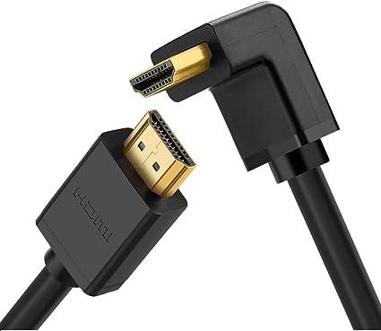 UGREEN HDMI a HDMI Cable acodado 90 Grado Ultra HD 4K Alta ...