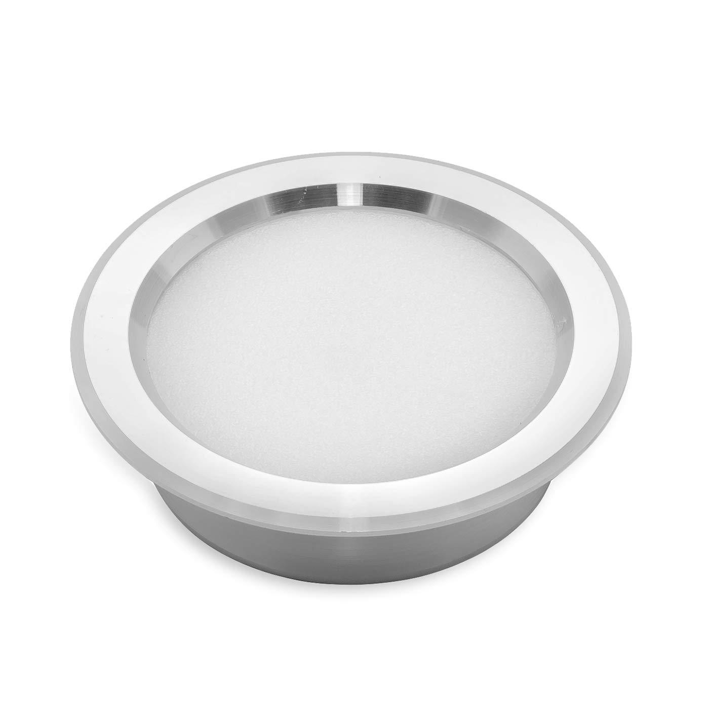 Foco LED empotrable 3 W fino. Luz para campana extractora de cocina, estantes. 220 V Sustitución halógena – Luz blanca cálida: Amazon.es: Iluminación