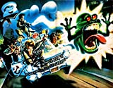SDore The Real Ghostbusters Birthday Party Edible 1/2 Half Sheet Image Frosting Cake Topper
