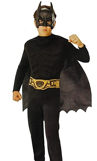 DC Comic Batman The Dark Knight Child Costume, Medium