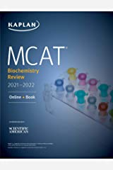 MCAT Biochemistry Review 2021-2022 (Kaplan Test Prep) Kindle Edition