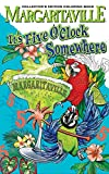 Margaritaville 5 O'Clock Somewhere Adult Coloring Book Collector's Edition (Travel Edition) With Bonus Soothing Sounds and Views Of The Ocean DVD