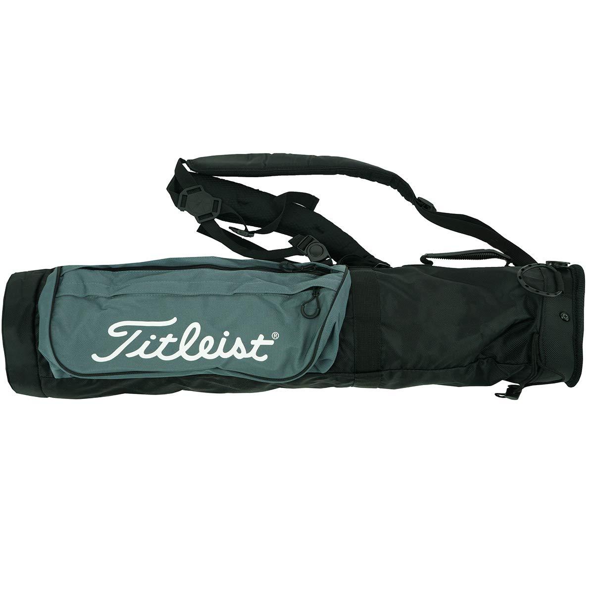 Titleist Sunday Golf Carry Bag Black/Grey by Titleist