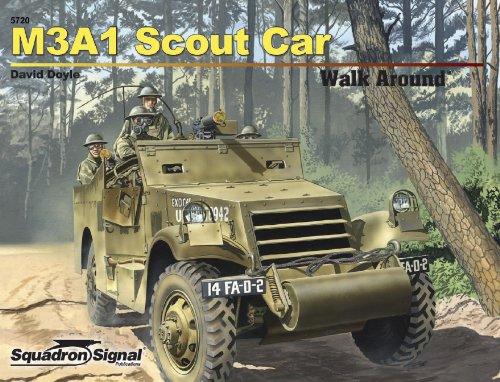 M3A1 White Scout Car - Armor Walk Around No. 20