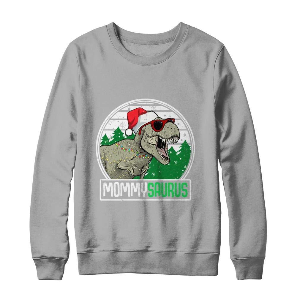 Mommysaurus Mommy Dinosaur Trex Family Christmas Shirt
