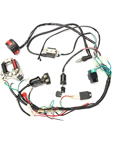 Alftek CDI Wire Harness Assembly Wiring Juego para 50 CC de 125cc Chino ATV Electric Quad