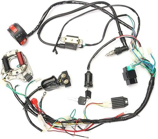 Set di Cablaggio CDI per Quad elettrici Cinesi ATV 50cc-125cc Abilie