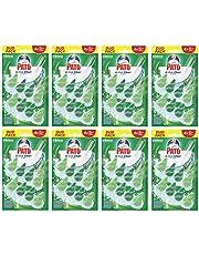 Ahorra en Pato - Active Clean colgador para inodoro, frescor intenso, perfuma y desinfecta, aroma Pino, (Pack de 8 x 2 unidades, total 16 colgadores) y más
