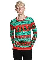 Bonxddy 3D Geometric Animal Print T Shirt Men Funny Christmas Men T Shirts Casual Slim Fit