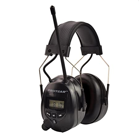 Protear ear defenders protection muffs headphones with radio amfm protear ear defenders protection muffs headphones with radio amfm stereo headphone jack ccuart Choice Image