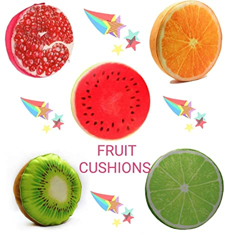 Fruit Cushion Fruit Cushion Fruit Seat Cushion Chair Cushion Seat Cover Throw Pillow Strawberry Style Selected Material Power Source