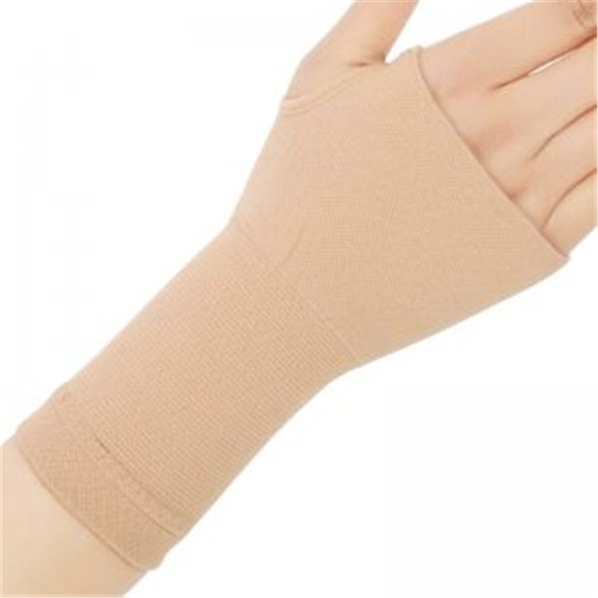 Therapy Gloves Arthritis Compression Gloves Medical Stretch Bracers Elbow Wrist Scar Hand Health Care Physiotherapy Rehabilitation Suitable for Men and Women 1 Pair