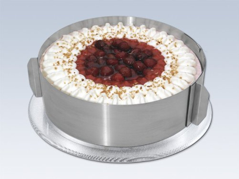 Katech regolabile anello torta rotonda professionale in acciaio ...