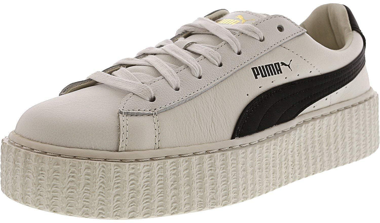 PUMA Womens Creeper Puma White/Puma Black 9 B US: Amazon.es: Zapatos y complementos