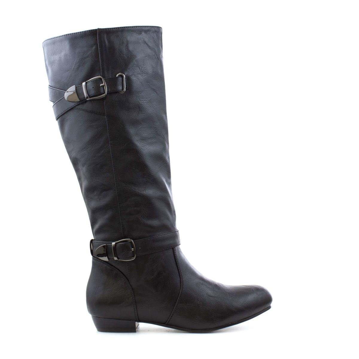 photo Womens Lilley High Leg Boot with Silver Chain-18207 modern collection