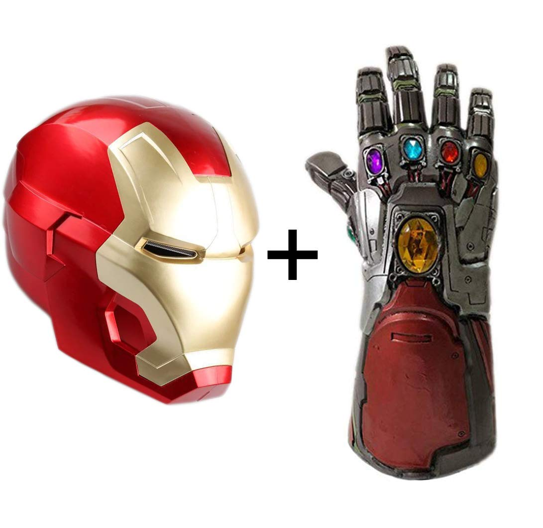 Avengers 4 Endgame Iron Man Infinity Gauntlet Hulk Cosplay Arm Thanos (Set B)