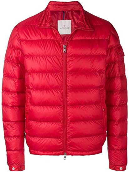 online store 706fe f6c38 Moncler Piumino Uomo 403939953279448 Poliammide Rosso ...