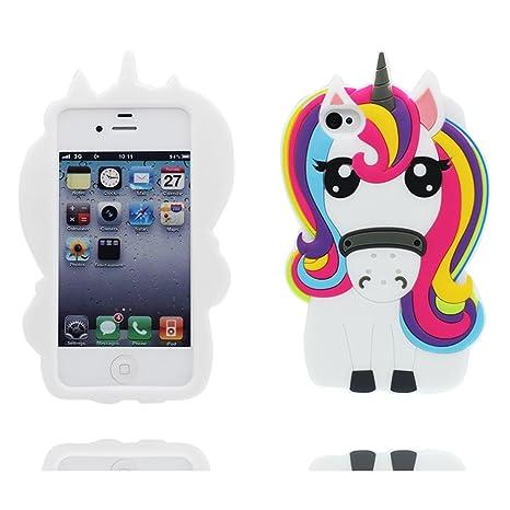 custodia iphone 4 unicorno