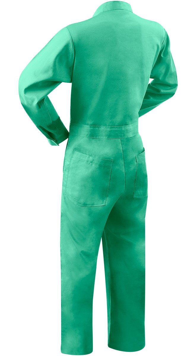 Steiner 1035-X Coverall, Weldlite Green 9-Ounce Flame Retardant Cotton, Extra Large by Steiner (Image #2)